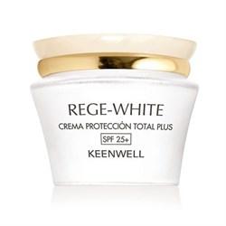 Keenwell Rege-White Total Plus Protection Cream SPF 25 – Крем защитный «Тотал плюс» СЗФ 25, 50 мл - фото 8345