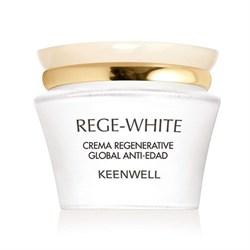 Keenwell Rege-White – Крем восстанавливающий омолаживающий глобал Риджи-Вайт, 50 мл - фото 8347