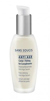 Sans Soucis anti-age caviar fishing for compliments serum – Сыворотка поросуживающая омолаживающая с экстрактом икры, 30 мл - фото 9790