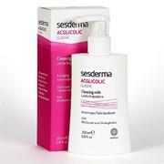 Sesderma Acglicolic Classic Facial Cleasing Milk – Молочко очищающее для лица с гликолевой кислотой Агликолик Классик, 200 мл
