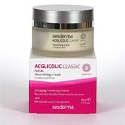 Sesderma Acglicolic Classic Facial Nourishing Cream – Крем питательный с гликолевой кислотой Агликолик Классик, 50 мл