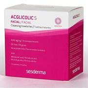 Sesderma Acglicolic S Facial Cleansing Towelettes – Салфетки очищающие с гликолевой кислотой Агликолик Эс, 14 х 5 мл