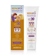 Sesderma Repaskids Sunscreen Gel Cream – Гель-крем солнцезащитный СЗФ 30 для детской кожи Репаскин, 100 мл