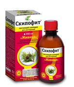 «Скипофит» – мультиактивный экстракт для растираний и принятия ванн «Живица», 250 мл