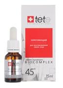 Tete Cosmeceutical Биокомплекс для восстановления овала лица 45+, 15 мл