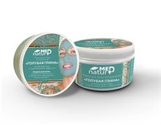 NaturMed маска для лица «Голубая глина» антивозрастная с потягивающим эффектом, 250 мл