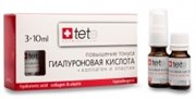 Tete Cosmeceutical Hyaluronic Acid + Collagen & Elastin – Гиалуроновая кислота + коллаген и эластин, 3 х 10 мл