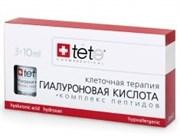Tete Cosmeceutical Гиалуроновая кислота + комплекс пептидов, 3 х 10 мл